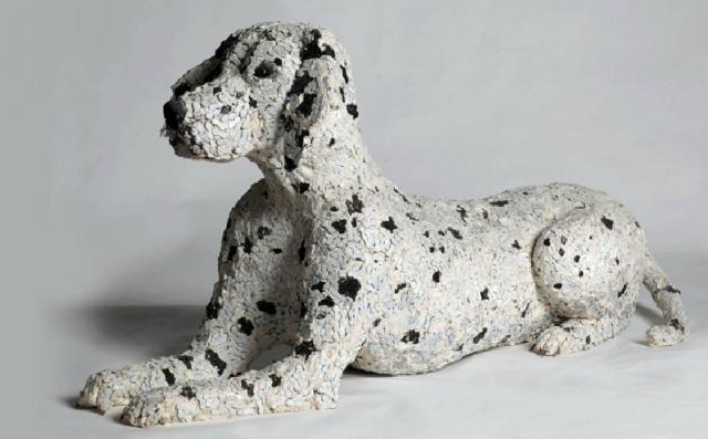 скульптуры собак из велосипедных деталей 3 (640x397, 153Kb)