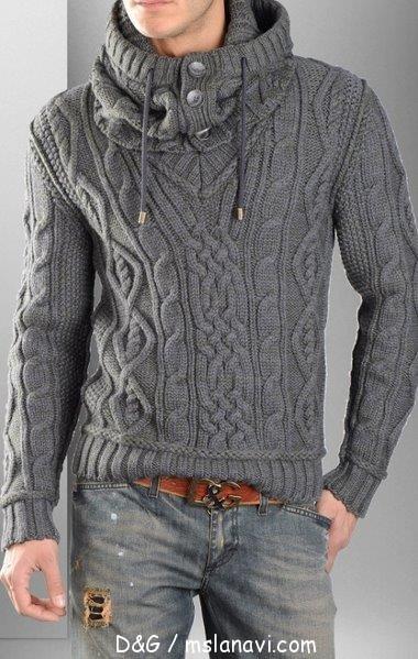 Мужской пуловер 380x599 82kb