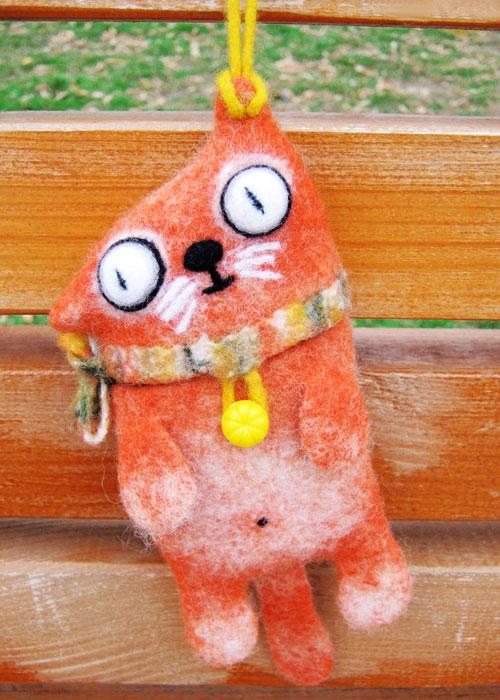 Рыжий кот (500x700, 108Kb)