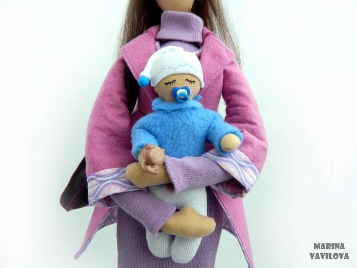 Кукла своими руками для беременных