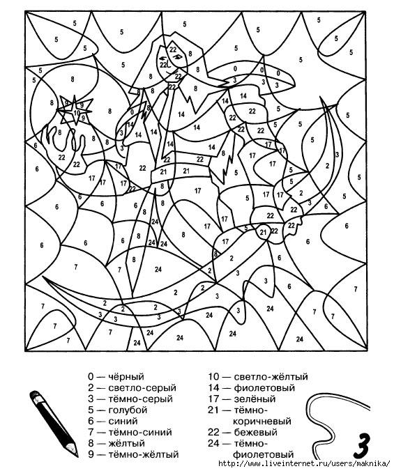 Раскраски для мальчиков по номерам распечатать - 2
