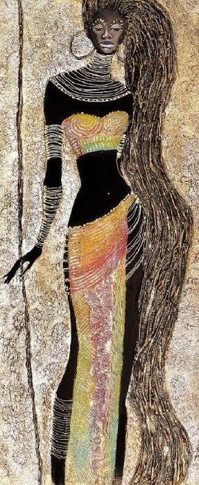Танцующая королева (287x700, 101Kb)