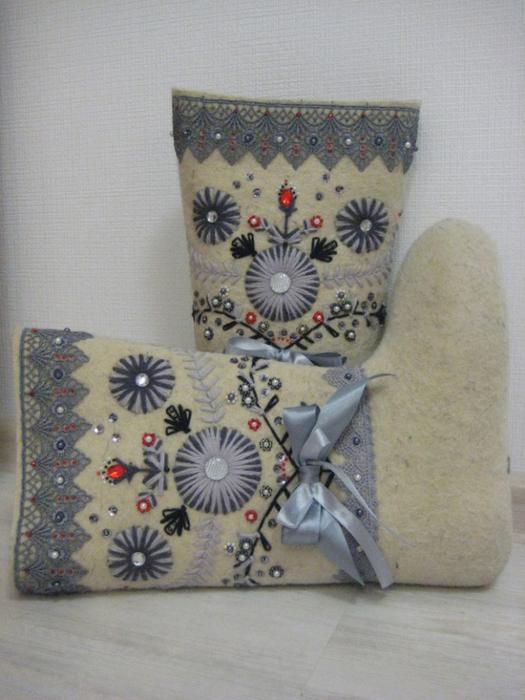 Схемы вышивки на валенках
