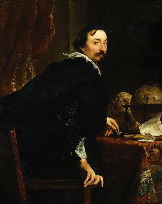 Антонис ван Дейк - Лукас ван Уффель (умер в 1637 г.)  1621-27 (555x699, 109Kb)