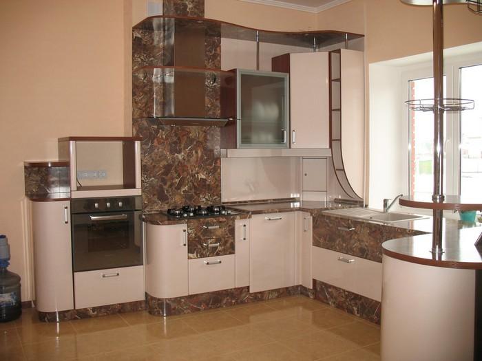 Маленькие угловые кухни в картинках или фото 18