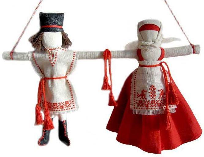 Кукла Неразлучники символ и
