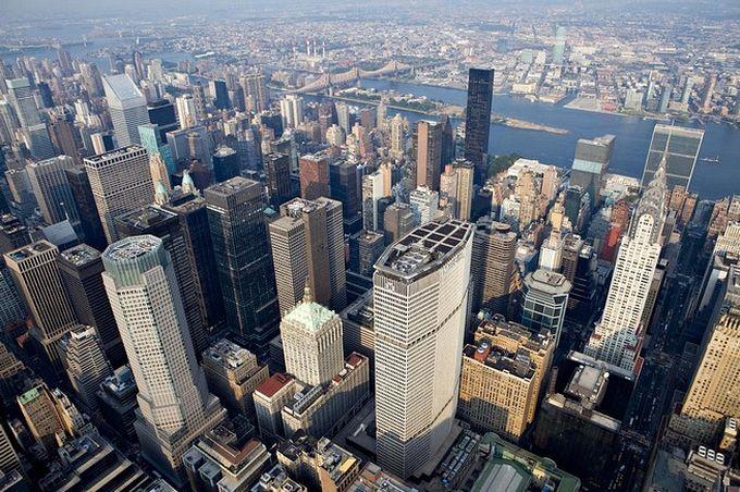 нью-йорк фото с высоты птичьего полета 1 (680x452, 113Kb)