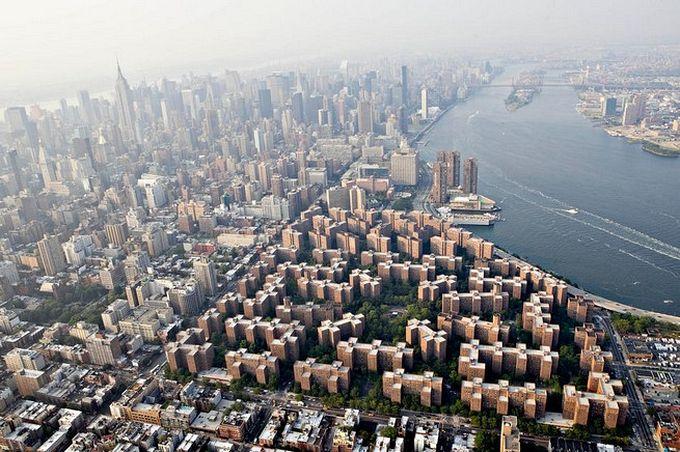 нью-йорк фото с высоты птичьего полета 3 (680x452, 94Kb)