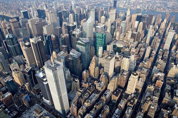 нью-йорк фото с высоты птичьего полета 5 (680x452, 124Kb)