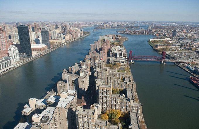 нью-йорк фото с высоты птичьего полета 7 (680x442, 74Kb)