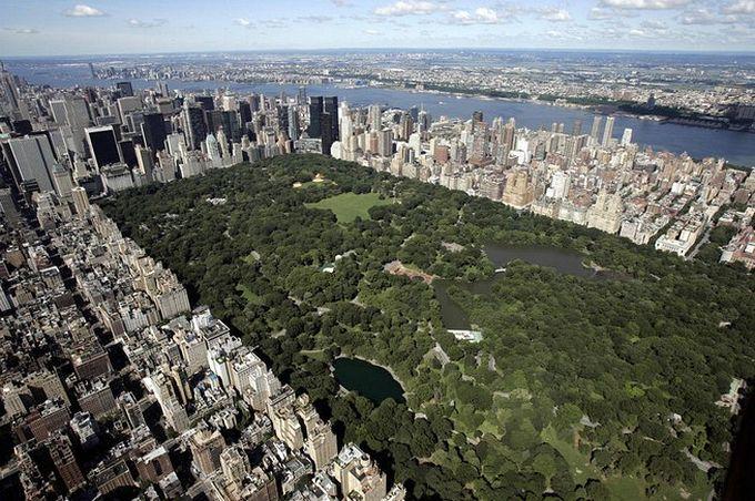 нью-йорк фото с высоты птичьего полета 9 (680x452, 104Kb)