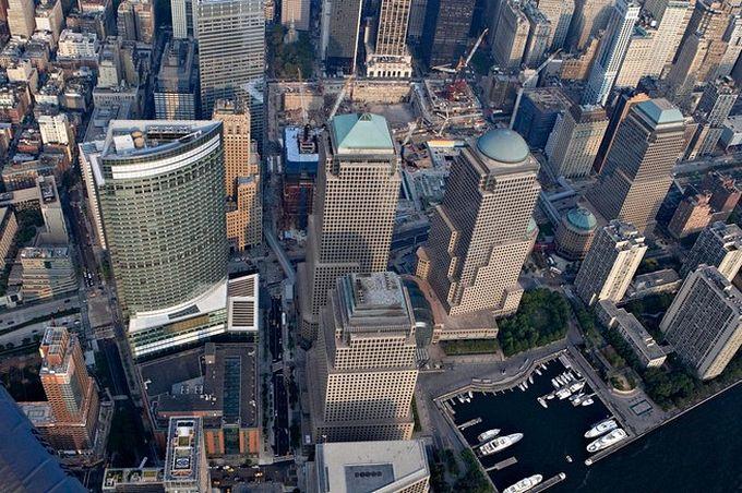 нью-йорк фото с высоты птичьего полета 13 (680x452, 112Kb)