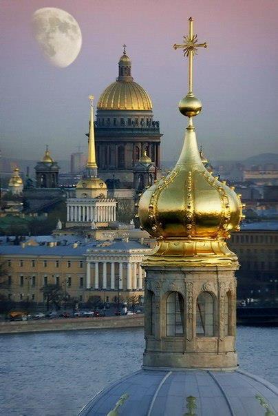Луна над Санкт-Петербургом (404x604, 40Kb)
