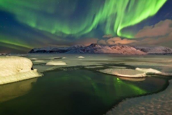 Северное сияние (Норвегия) (604x403, 28Kb)