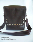 Барсетка.  Некоторое время назад я показывала вам сумочку для документ.  0. 10.11.2012.