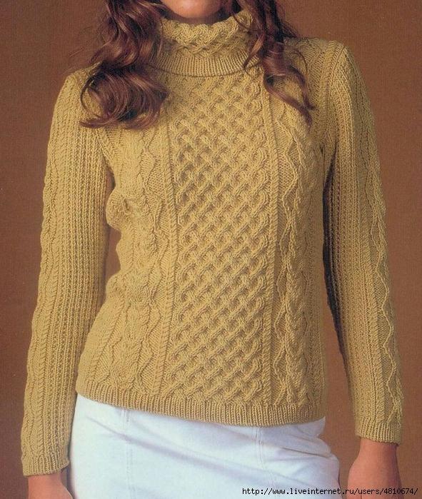пуловер 1 (591x699, 386Kb)