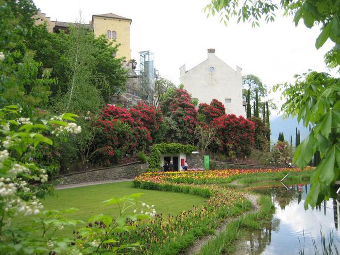 Сады замка Траутмансдорф 17428