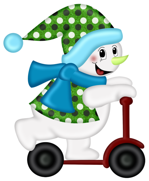 PPS_Scooting Snowman (576x700, 254Kb)
