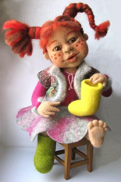 Куклы своими руками валяние мастер 1054
