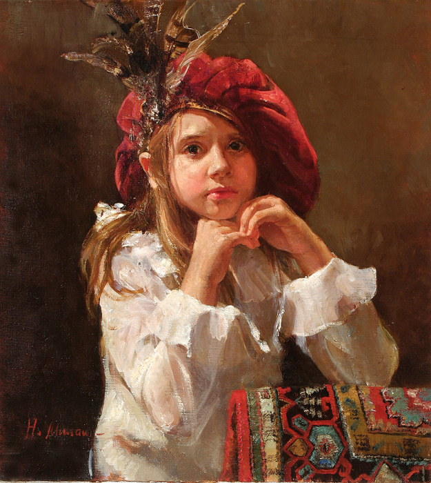4682843_35492111_Girl_In_Hat_With_Feathers (625x700, 571Kb)