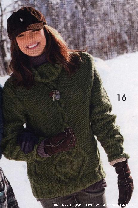 вязаный пуловер 16 3 (463x700, 282Kb)