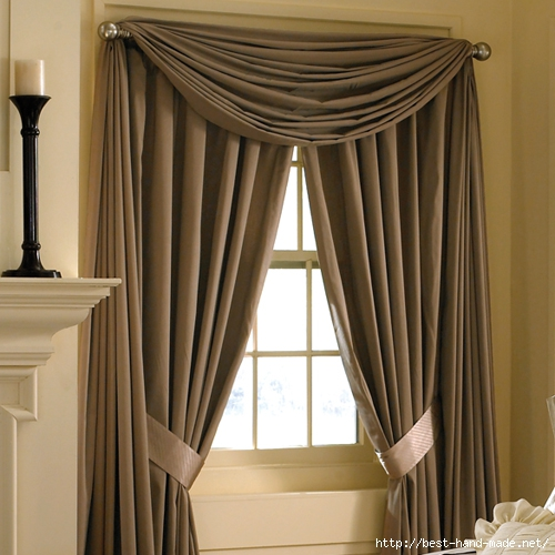 Curtains And Draperies In Home Interior Design  Drapes (500x500, 173Kb)
