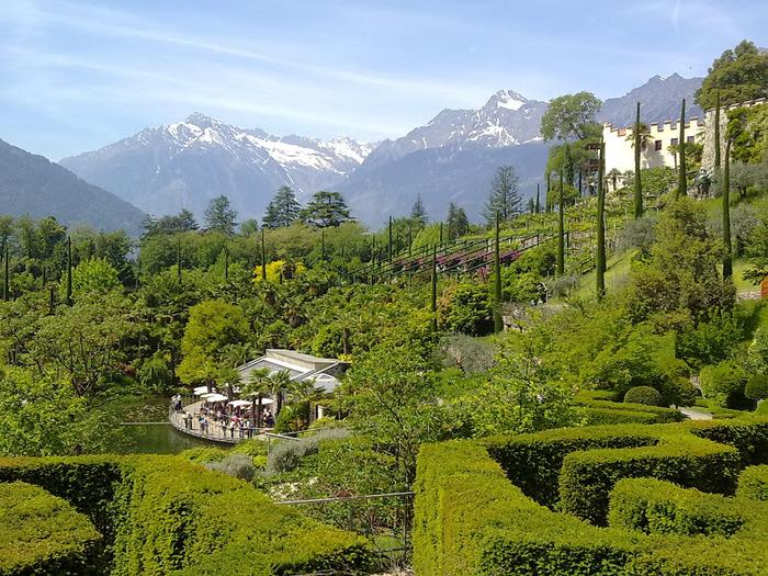 Сады замка Траутмансдорф 93460