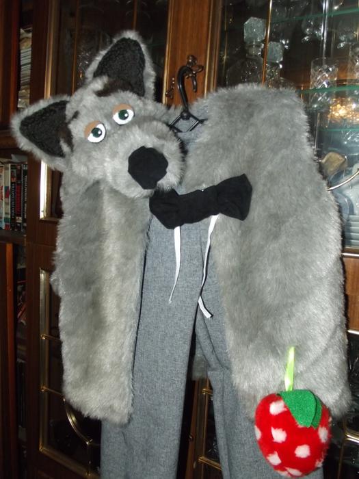 Костюм волка своими руками с фото