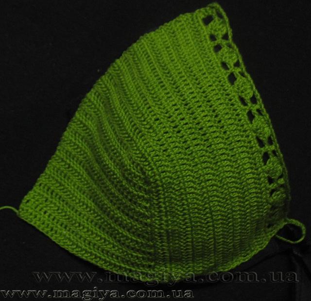 Узоры для вязания шалей спицами 84