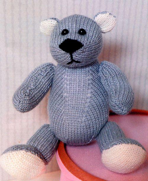 Мишка спицами 1 (500x612,