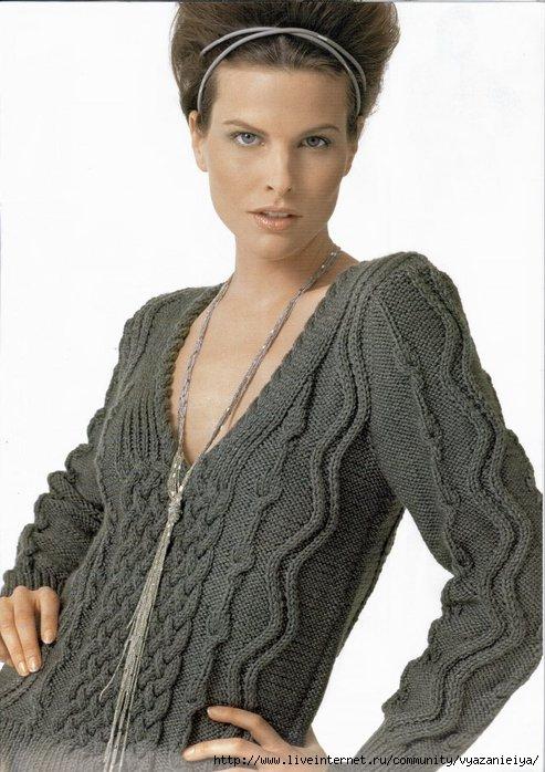 Вязаный пуловер 8 (493x698, 194Kb)