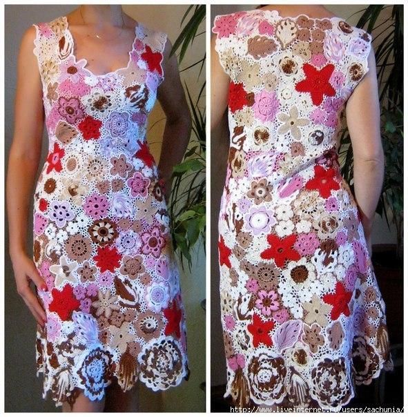 Платье (591x604, 305Kb)