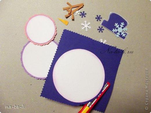 Открытки со снеговиком своими руками для детей - Zdravie-info.ru