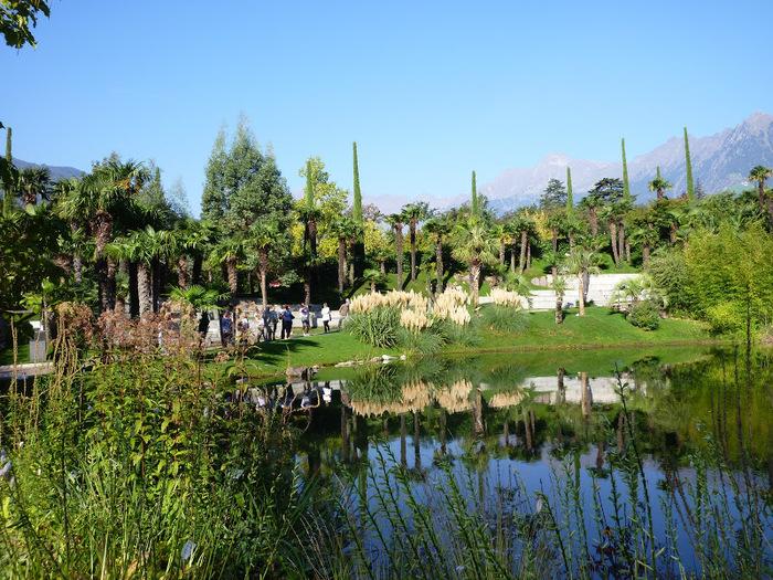Сады замка Траутмансдорф 25557