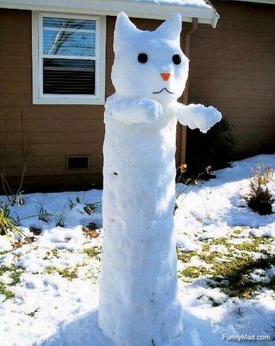 Ютуб снеговик своими руками