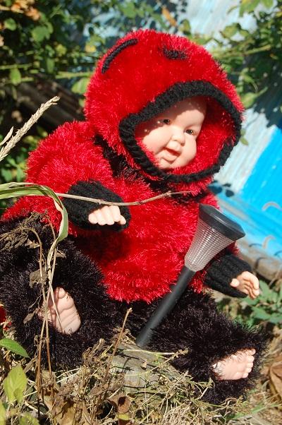 Вяжем травкой для малышей 54