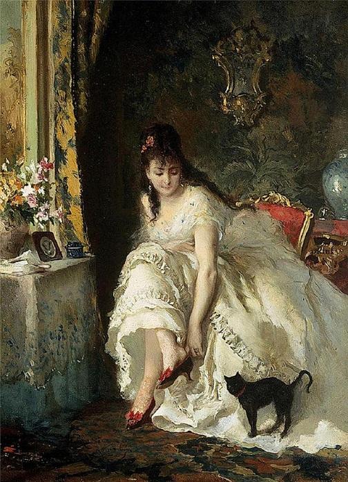 Lucius Rossi - In the boudoir (504x700, 197Kb)
