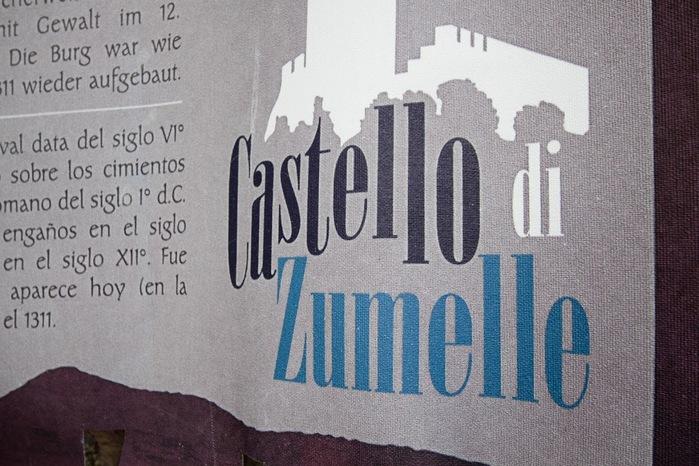 Замок Зумелле - Castello di Zumelle 58100