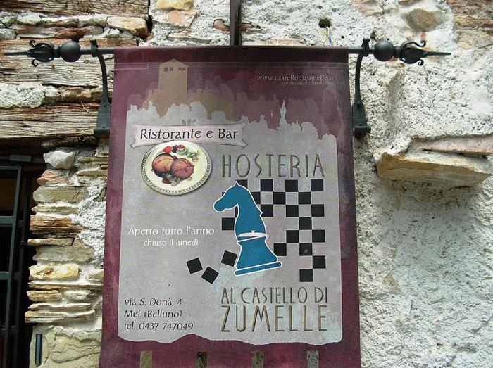 Замок Зумелле - Castello di Zumelle 65390