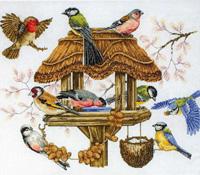 Bird Table (Кормушка для птиц).  Из серии Premier Collection.  Панно.