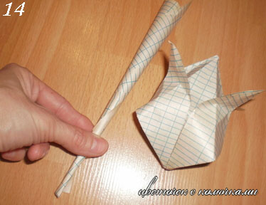 Оригами из бумаги видео уроки по русскому