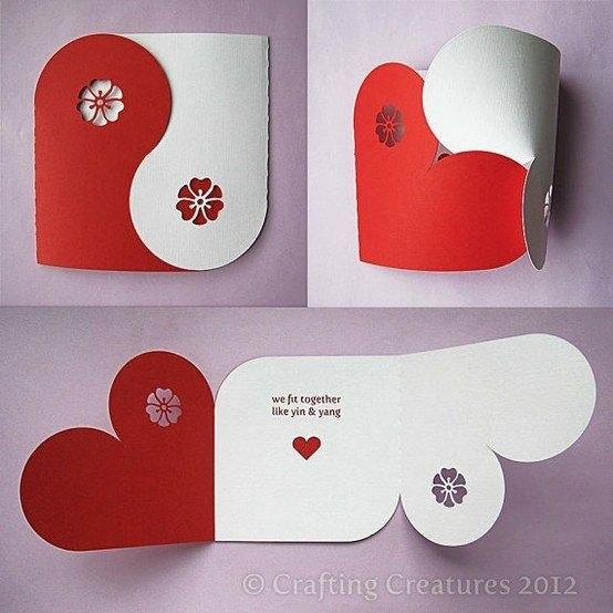 Как сделать интересные открытки своими руками