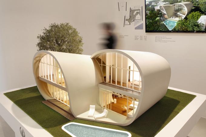 оригинальный архитектурный проект The Moebius House (680x451, 251Kb)