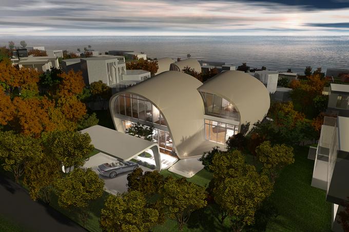 оригинальный архитектурный проект The Moebius House 3 (680x453, 351Kb)