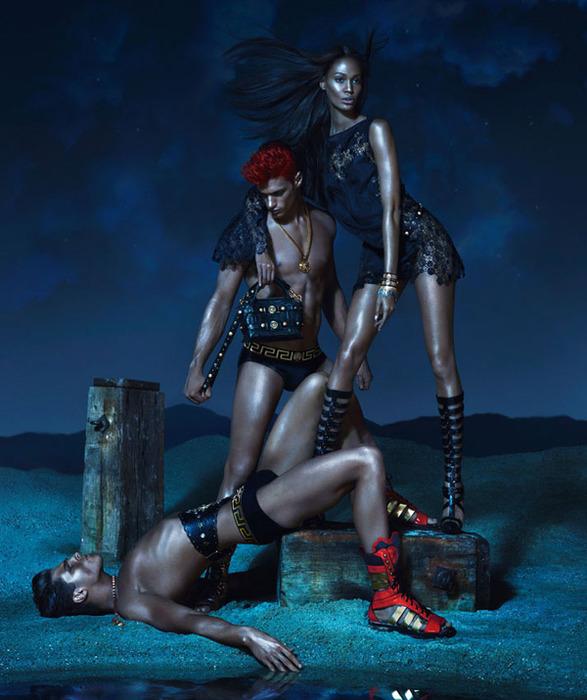 Versace модная летняя коллекция 2 (587x700, 122Kb)