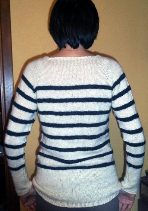 Пуловер Из Полос