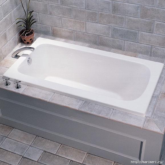 Вкладыш в ванну своими руками