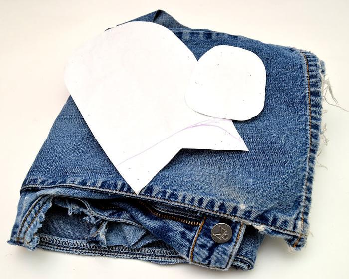 Мокасины из джинсы своими руками