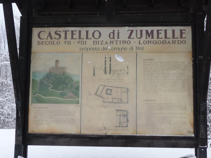 Замок Зумелле - Castello di Zumelle 39251