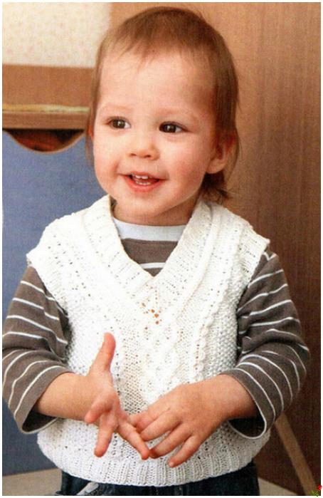 Вязание одежды для кукол с описанием спицами